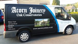 Acorn Joinery Van
